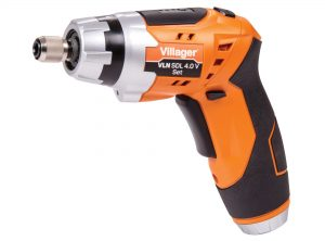 Akumulátorový skrutkovač VILLAGER VLN SDL 4.0 Set
